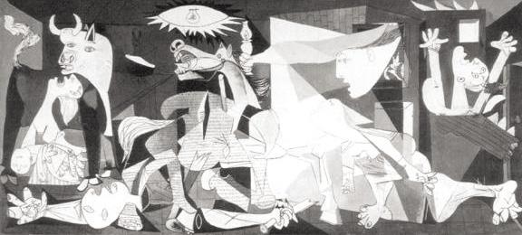 Guernica, de Picasso, um rei nas Vanguardas Europeias