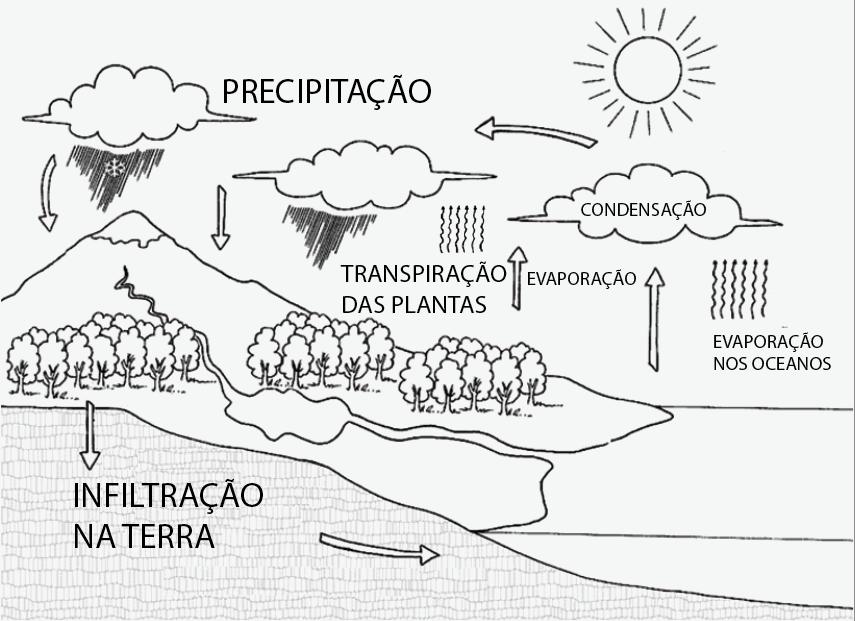 Geografa - Chuvas e Hidrografia