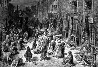 Crianças na época da Revolução Industrial