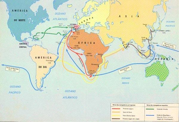 A Expansão Marítima e Comercial Europeia - História Enem