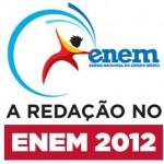 Redação Enem – Correção da edição 2012 será liberada hoje