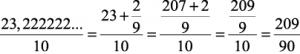 Transformação de números decimais para frações - Matemática Enem