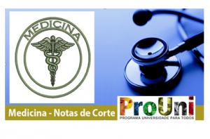 Medicina notas de corte Prouni