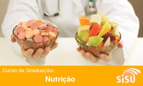 Notas de corte no Sisu 2014 para o curso de graduação de Nutrição