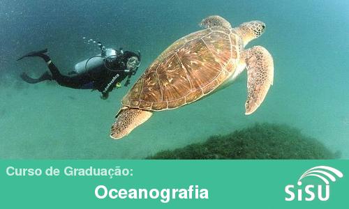 Notas de corte no Sisu 2014 para o curso de graduação de Oceanografia