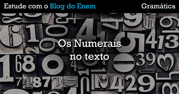 Gramática - Numerais-FB
