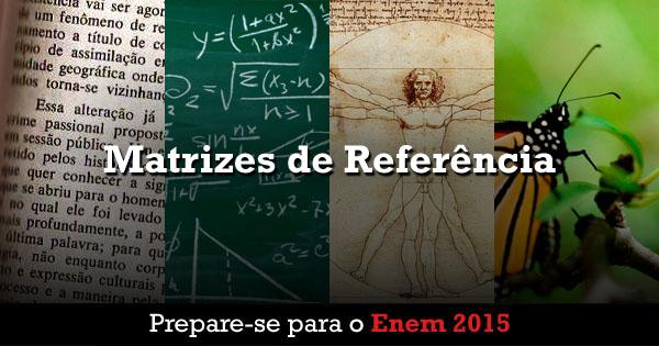Prepare-se para o Enem 2015 - Matrizes de Referência