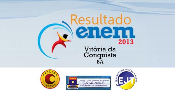 vitoria-da-conquista-resultado-enem-2013-escolas-fb