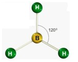 Geometria Molecular - 120 graus