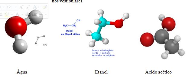 substâncias quimicas
