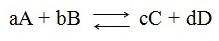 química - equilíbrio químico-