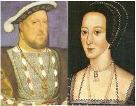 Reforma Protestante - Henrique VIII e Ana Bolena