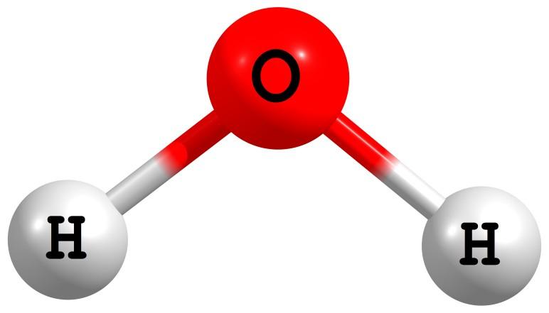 Substância - Molécula de água