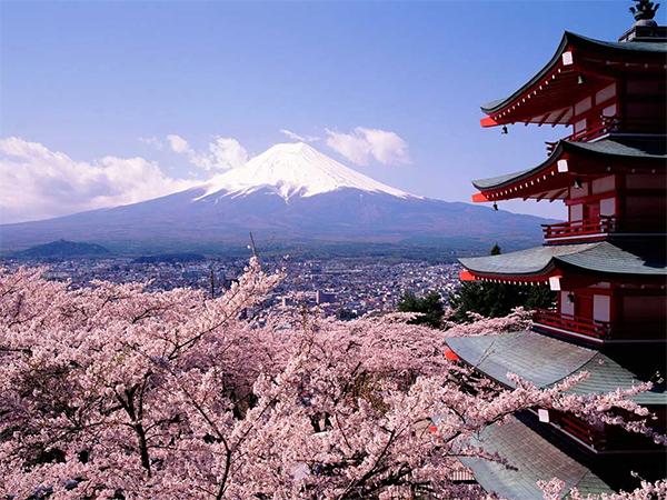 Ásia - Monte Fuji - Japão
