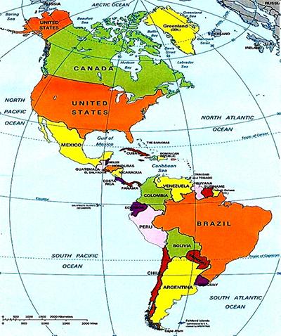 Enem  O Continente Americano Colonizao e caractersticas