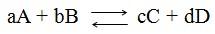 Constante de equilíbrio químico - Química Enem