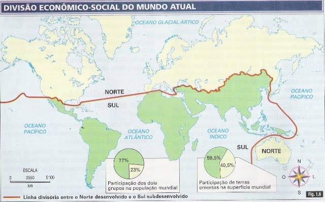 A Regionalização Mundial do espaço - Geografia Enem