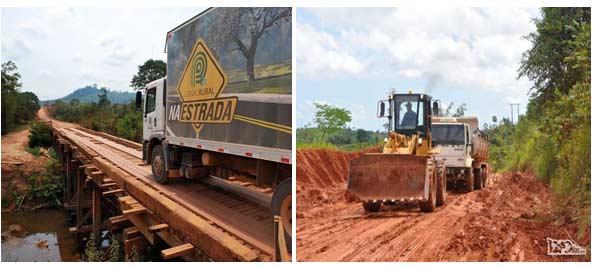Vias de Transporte no norte e a Transamazônica Brasileira - Geografia