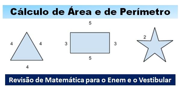 Cálculo de Área e de Perímetros