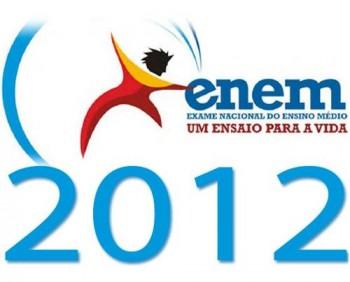 Nota do Enem 2012