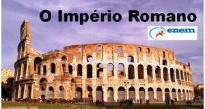 O Império Romano destacada