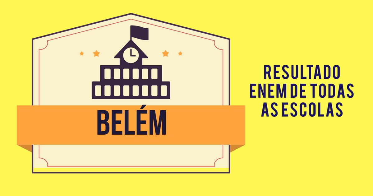 resultado Enem Belém