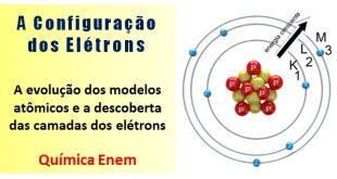 A configuração dos elétrons