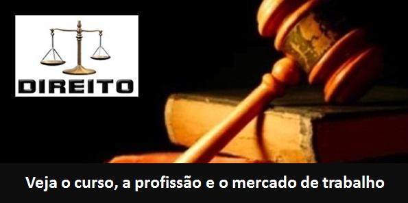 Direito – o curso de graduação, a carreira e o mercado de trabalho