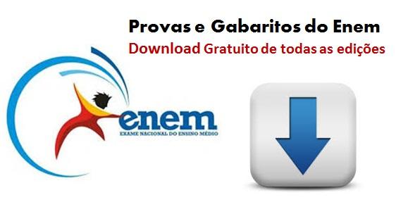 download provas e gabaritos