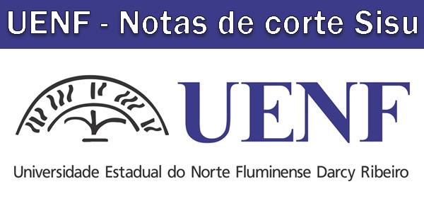 Notas de corte SIsu 2019 na UENF