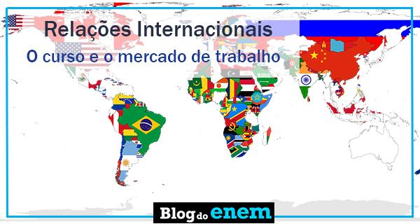 Faculdades com curso de relacoes internacionais