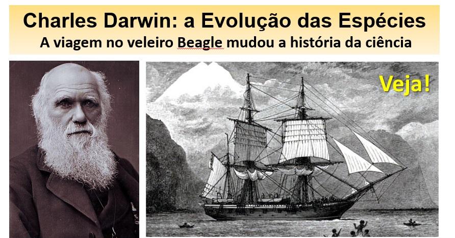 charles darwin e A Origem das Espécies