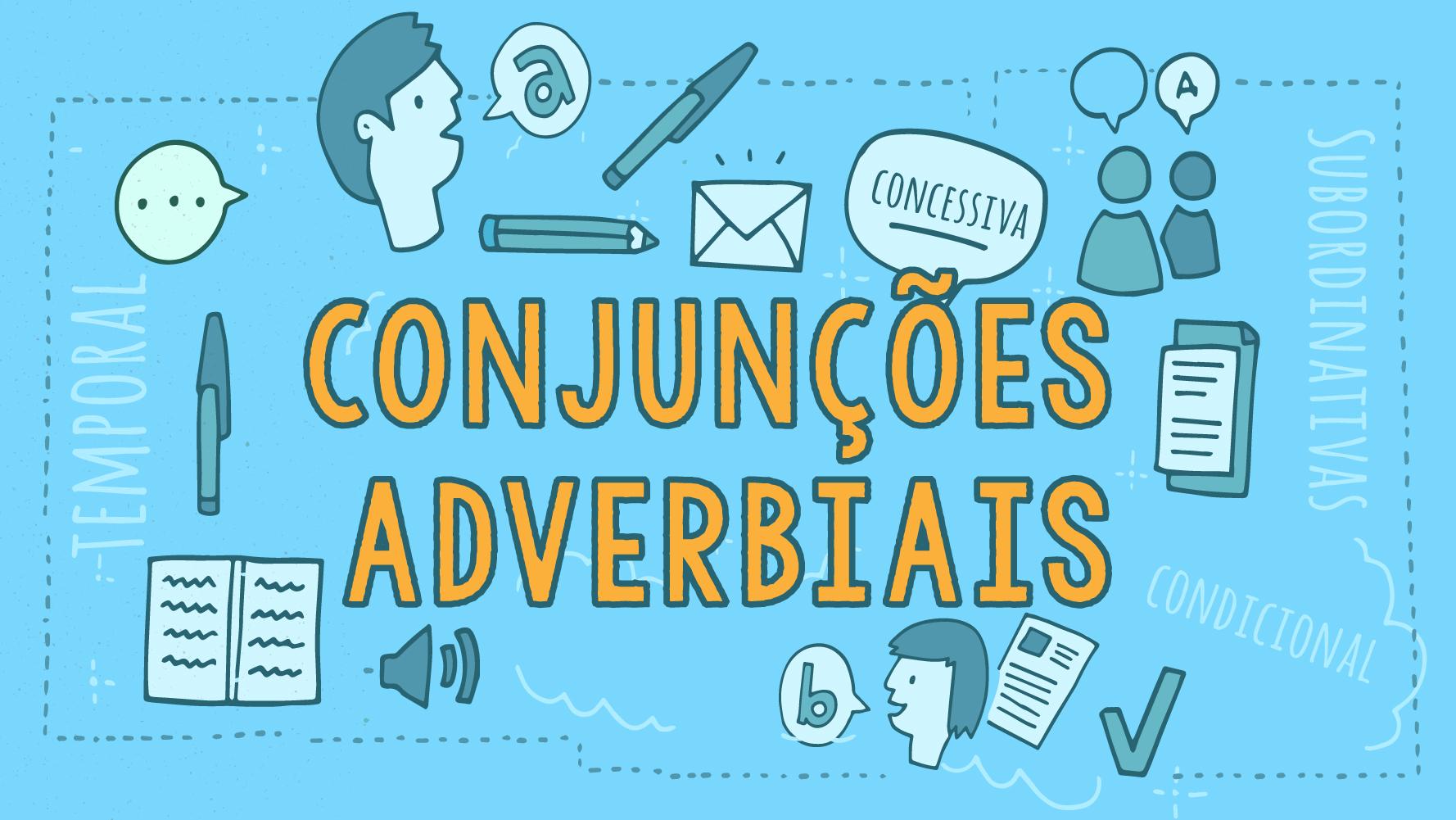 aula de conjunções adverbiais