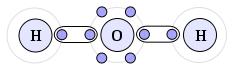 Ligação covalente H2O