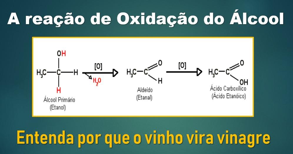 Oxidação e Redução: o vinho vira vinagre