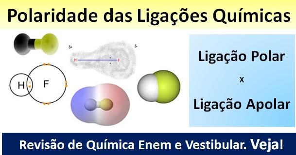 Tem Na Web - Química no Enem – Veja como funciona a Polaridade das Moléculas