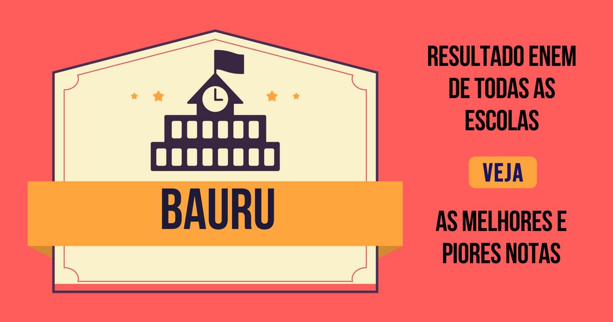 Resultado Enem Bauru
