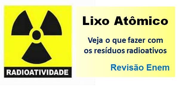 lixo atômico destacada