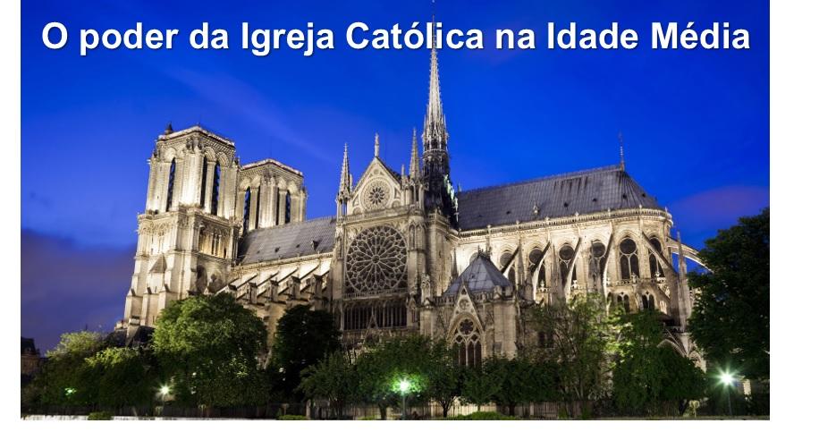o poder da igreja católica destacada