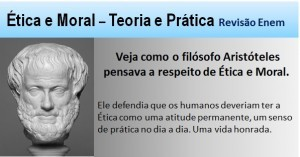 Ética e Moral na perspectiva de Aristóteles