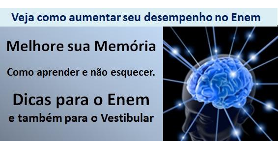 melhorar a memoria