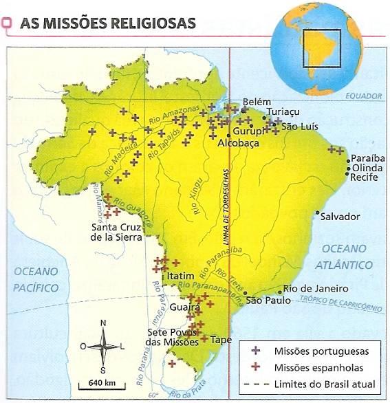 As Missões Jesuítas no Brasil