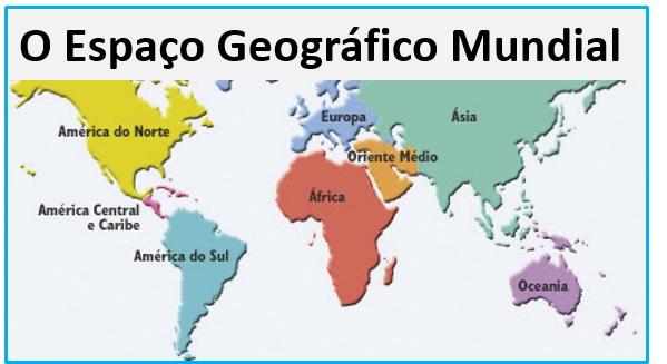 o espaço geográfico mundial