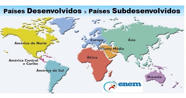 países desenvolvidos destacada