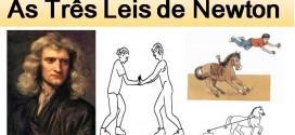As Três Leis de Newton: a mecânica clássica. Física Enem e vestibular.