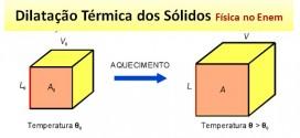 Dilatação Térmica do Sólidos – Revisão de Física Enem. Confira.