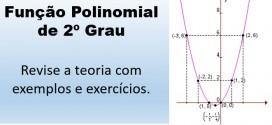 Função Polinomial do 2º Grau – Matemática vestibular e Enem.