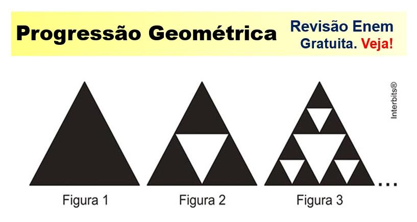 revisão de progressão geométrica