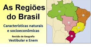 regiões do Brasil destacada