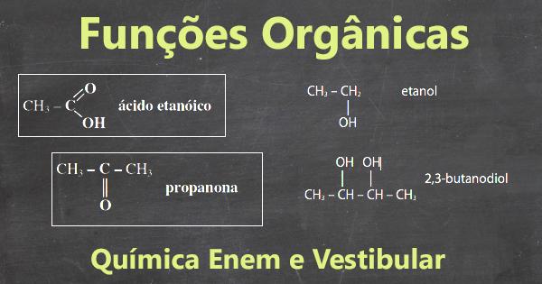 capa da aula funções orgânicas